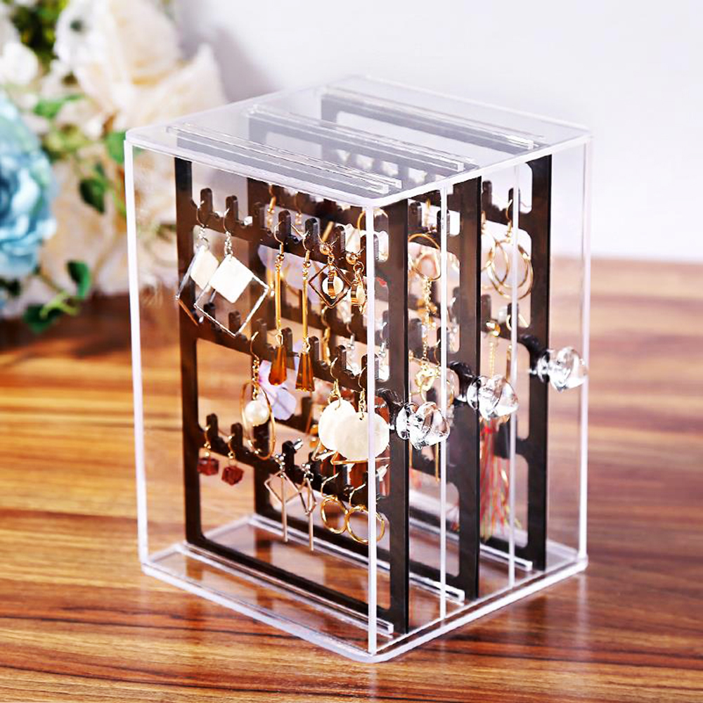 Acrylic Earring Display Holder & Earring Display box