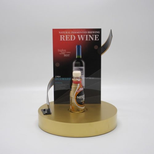 Acrylic wine display stand