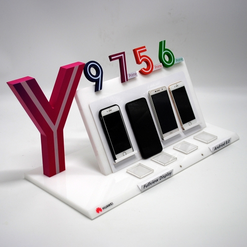 Mobile phone display stand