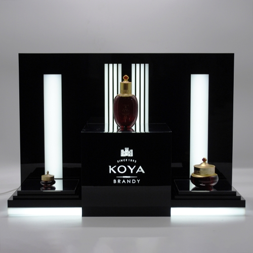 Acrylic LED Wine Display