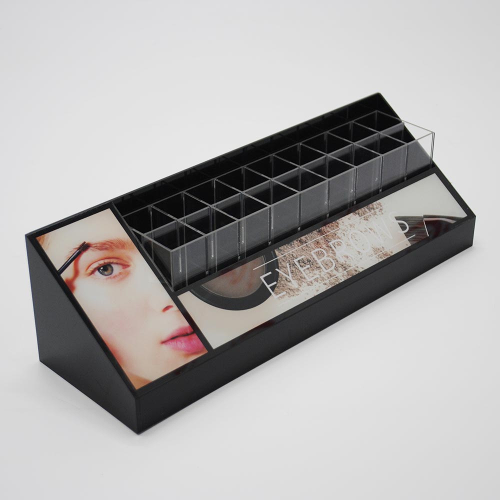 Cosmetics lipstick display boxes & lipstick display stand