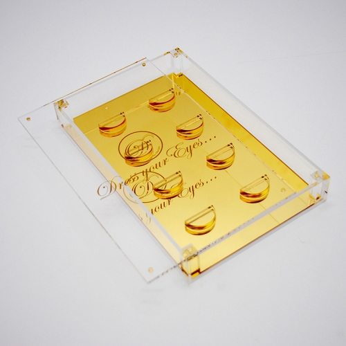 Acrylic eyelash display box