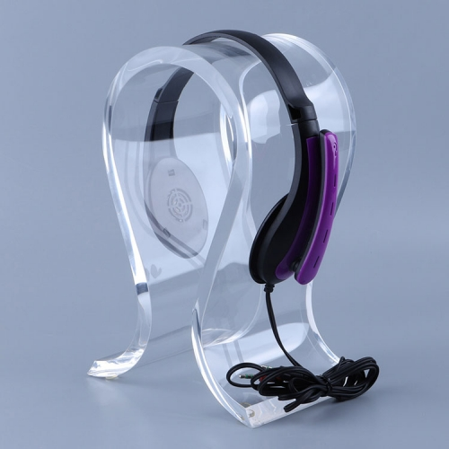 High Clear Earphone Stand Acrylic Display