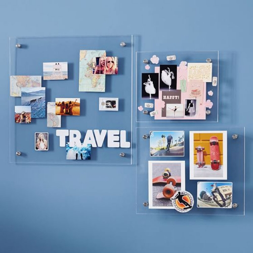 Wall mounted Acrylic Photo Frames Acrylic Hanging Picture Frame