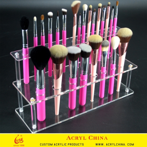 acrylic cosmetic holder makeup brush stand holder